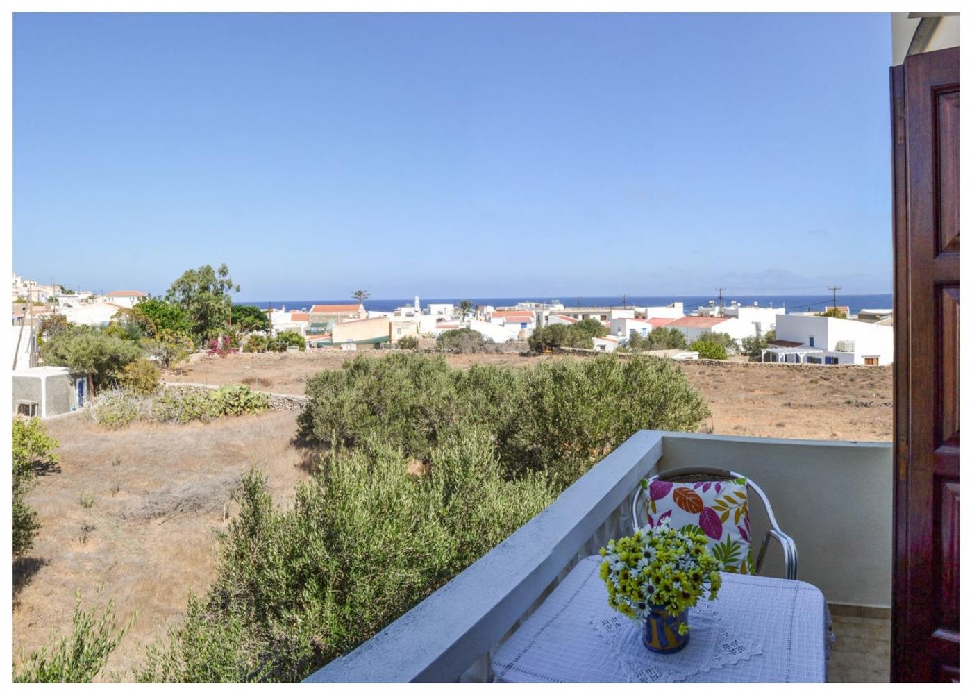 Blue sky apartments in Kasos