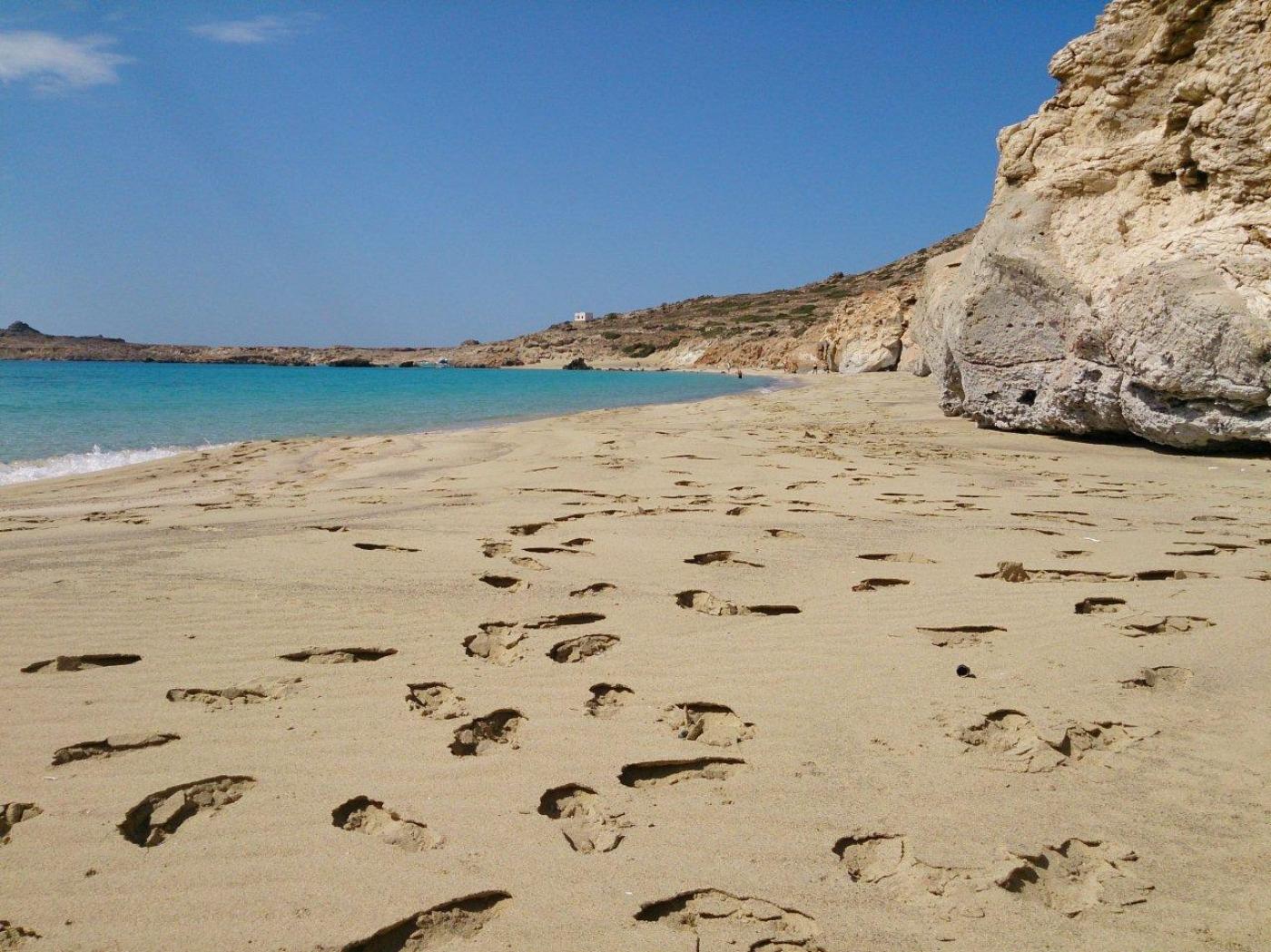 Isola Armathia - spiaggia